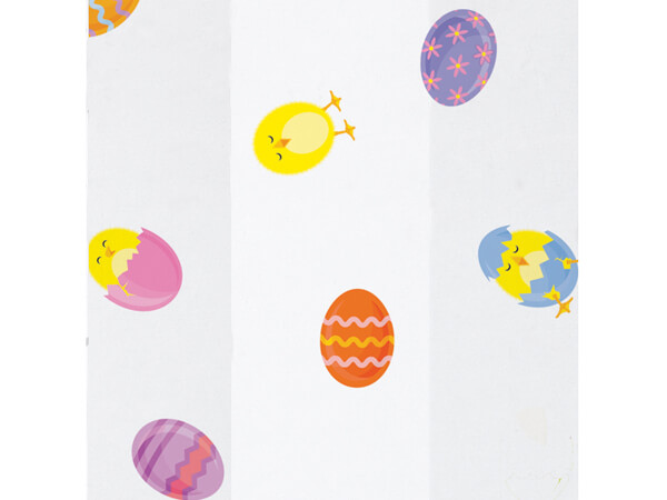 "Easter Chicks Cello Bags, 5x3x11"", 100 Pack"