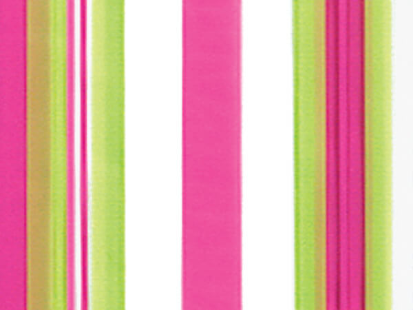 """Sweet Stripes Taffy Cello Bags, 5x3x11"""", 100 Pack"""