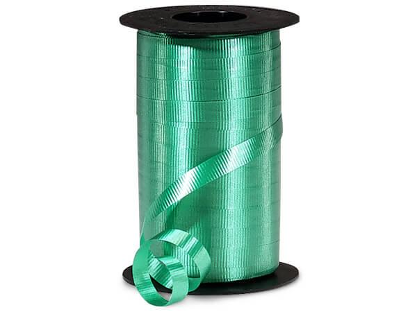 "Emerald Green Curling Ribbon, 3/8""x250 yards"