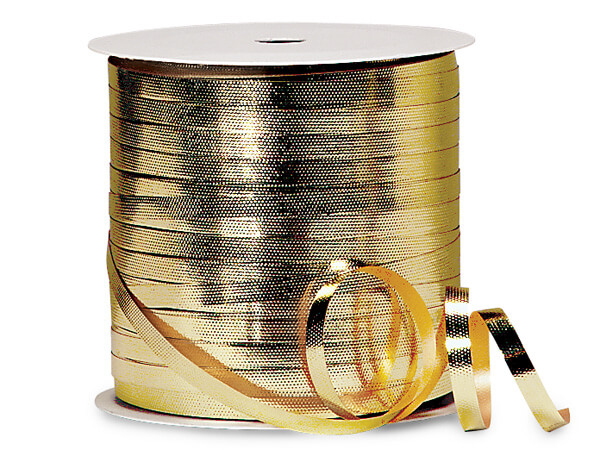 Metallic Gold Deluxe Curling Ribbon