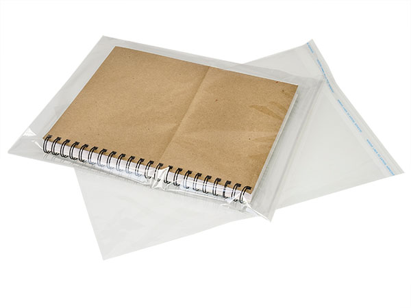 "Clear Tape Resealable Cello Bags, 11x14"", 100 Pack"