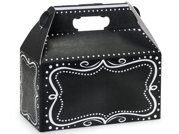 Chalkboard Borders Gable Boxes