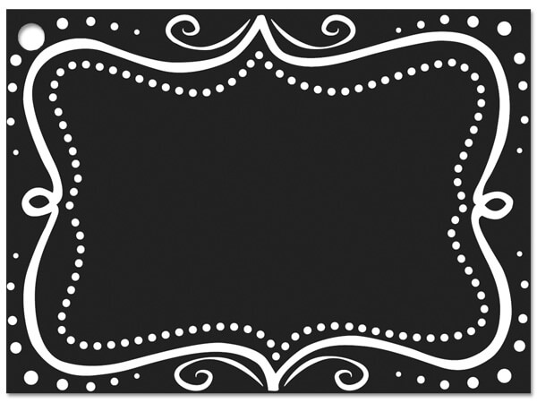 Chalkboard Borders Gift Cards