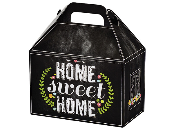 Chalkboard Home Sweet Home Gable Boxes