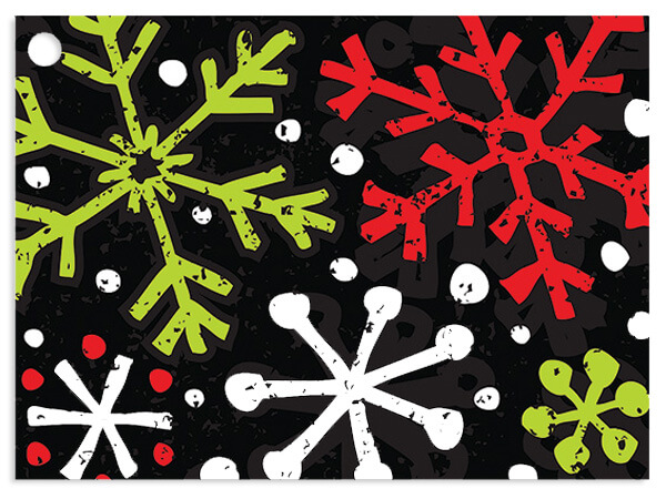 *Chalkboard Snowflake Gift Cards 3-3/4x2-3/4""