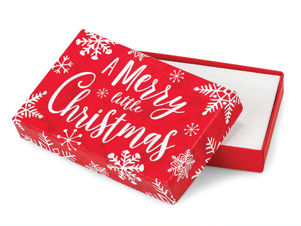 Merry Little Christmas Gift Card  Boxes