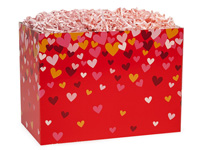 Nashville Wraps Confetti Hearts Basket Boxes