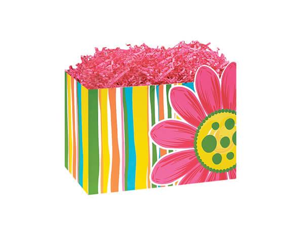 """Small Citrus Garden Basket Boxes 6-3/4x4x5"""""""
