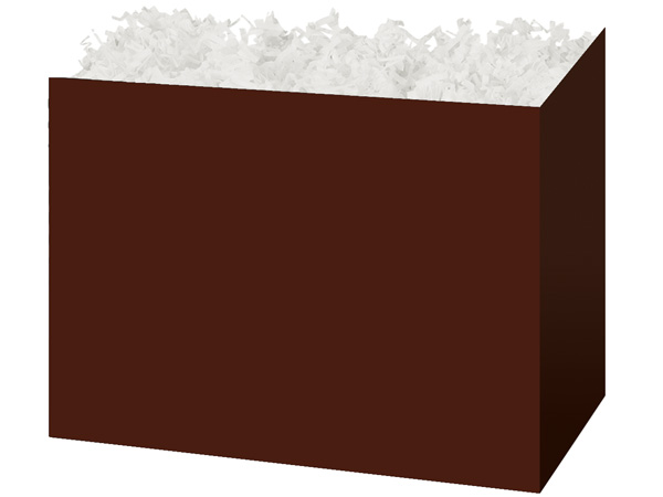 Large Solid Chocolate Basket Boxes 10-1/4x6x7-1/2""