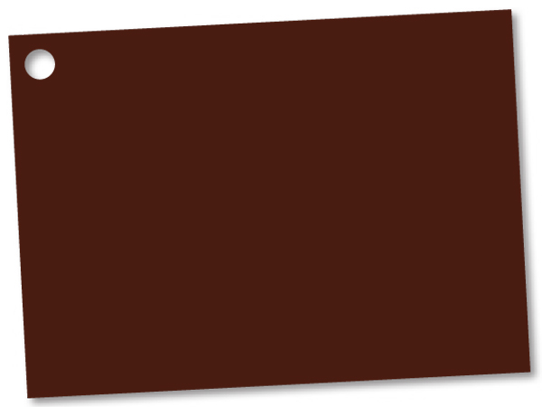 *Solid Chocolate Theme Gift Cards 3-3/4x2-3/4""
