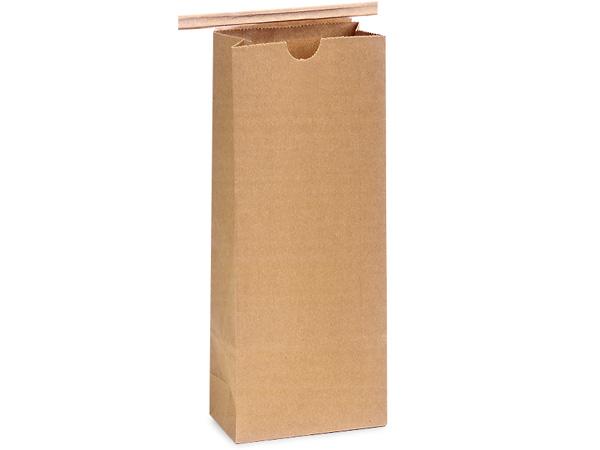 "1000 PLA Lined 1/2 lb Coffee Bags 3-3/8x2-1/2x7-3/4"""