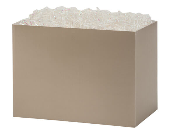 "Champagne Basket Boxes, Large 10.25x6x7.5"", 6 Pack"