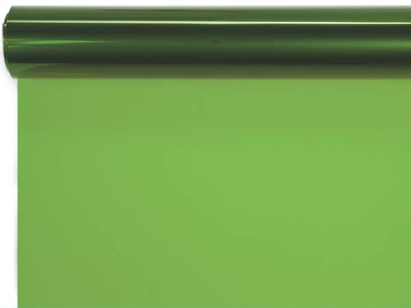 "Apple Green Cello Roll, 30""x100'"