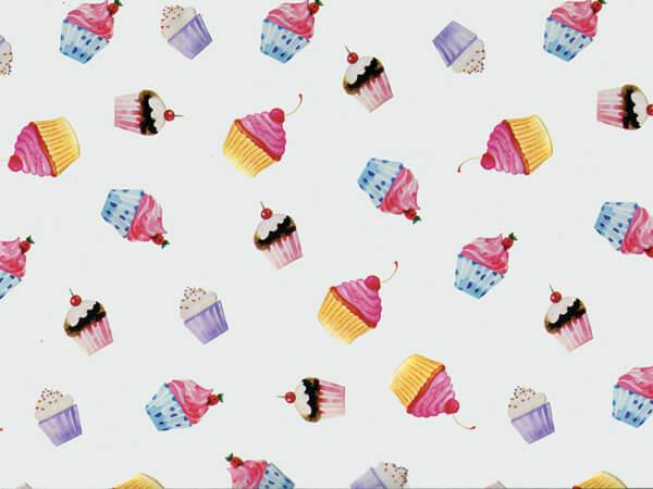 """*Cupcake Party Cello Roll, 30"""" x 100'"""