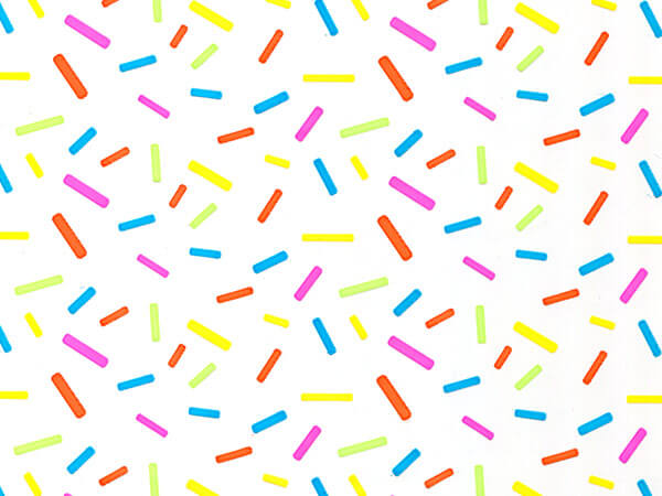 """Candy Sprinkles Cello Roll, 30""""x100'"""