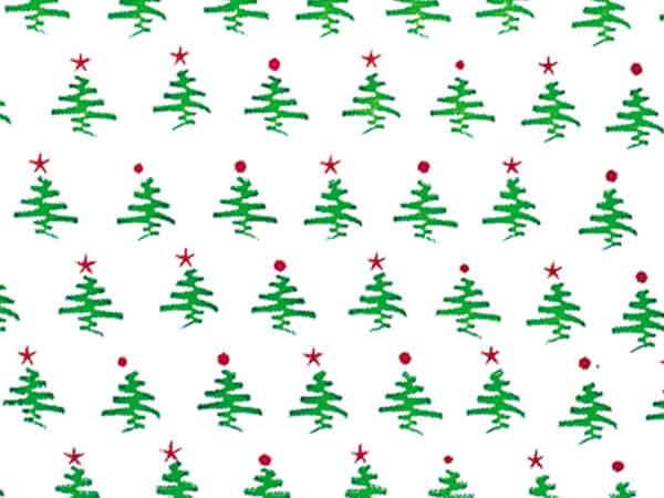 "Holiday Tree Cello Roll, 30""x100'"
