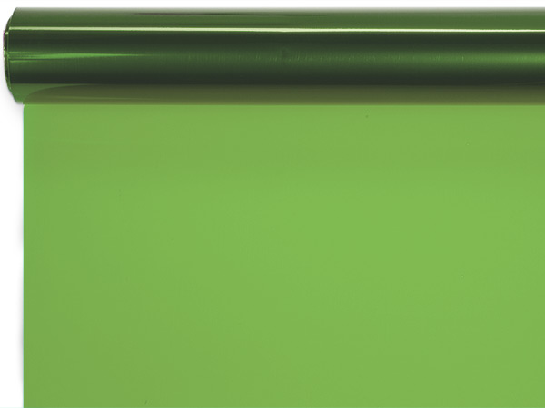 "Apple Green Cello Roll, 40""x100'"