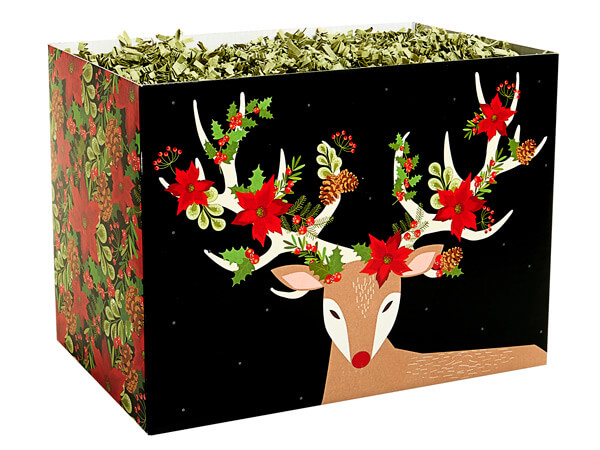 Christmas Reindeer Basket Boxes