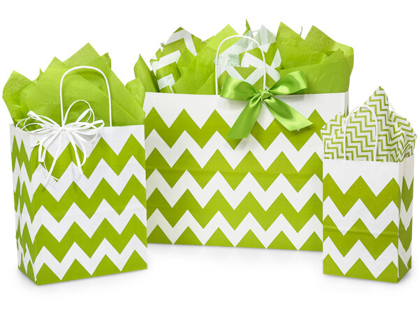 Apple Green Chevron Assortment 50 Rose, 50 Cub, 25 Vogue