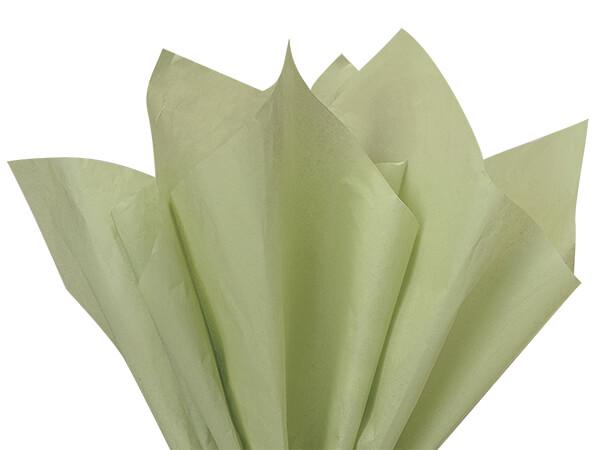 """Sage Green Tissue Paper 20x26"""" 240 Sheet Half Ream"""