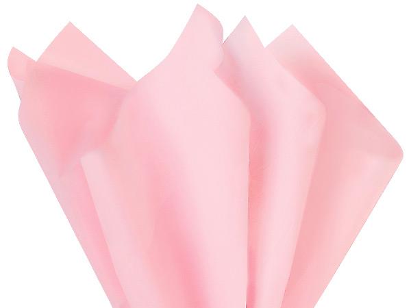 """Light Pink Tissue Paper 20x26"""" 480 Sheet Ream"""