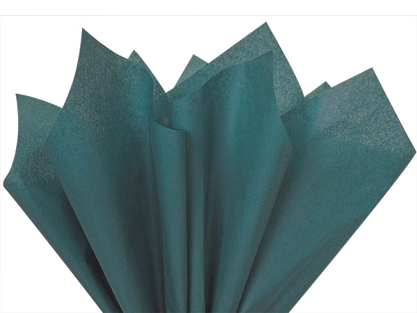 "Colonial Blue Color Tissue Paper, 20x30"", Bulk 480 Sheet Flat Pack"
