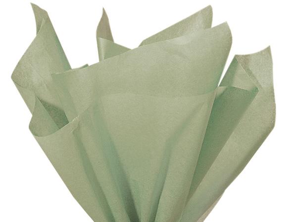 """Cedar Green Color Tissue Paper, 20x30"""", Bulk 480 Sheet Flat Pack"""