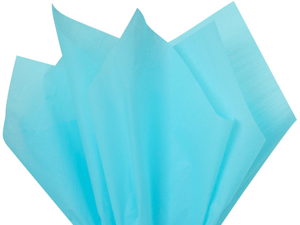 "Oxford Blue Color Tissue Paper, 20x30"", Bulk 480 Sheet Flat Pack"