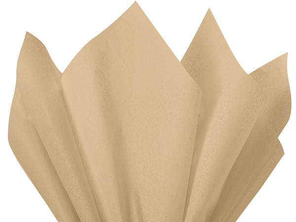"Parchment Color Tissue Paper, 20x30"", Bulk 480 Sheet Flat Pack"