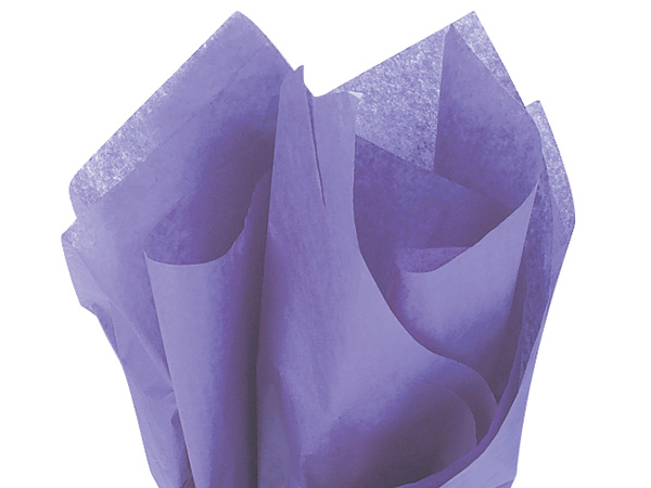 "Periwinkle Color Tissue Paper, 20x30"", Bulk 480 Sheet Flat Pack"