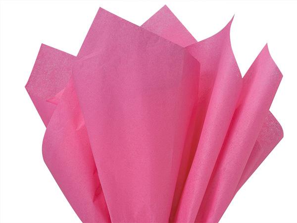 "Raspberry Fizz Color Tissue Paper, 20x30"", Bulk 480 Sheet Flat Pack"