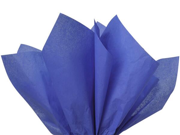 """Sapphire Blue Tissue Paper 20x30"""" 480 Sheet Flat Ream"""