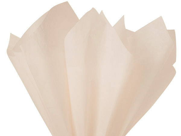 "Sandstone Color Tissue Paper, 20x30"", Bulk 480 Sheet Flat Pack"