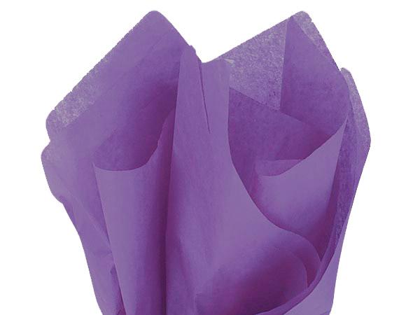 "Zippy Grape Color Tissue Paper, 20x30"", Bulk 480 Sheet Flat Pack"
