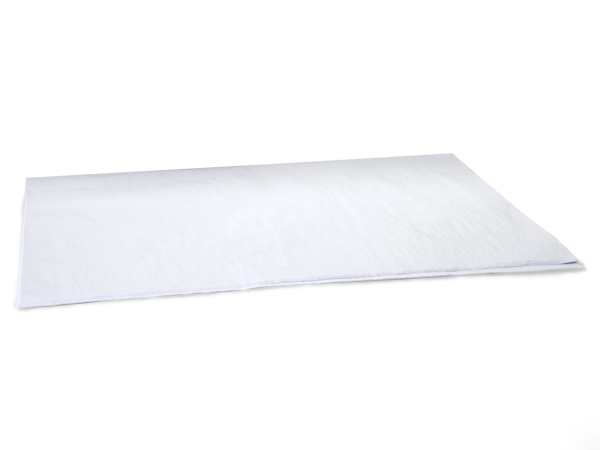 "White Premium Tissue Paper, 20x30"", 24 Sheet Pack"