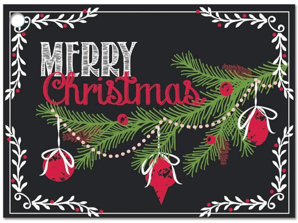 Chalkboard Wishes Gift Card