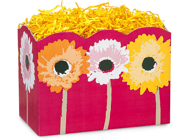 *Large Daisy Inspirations Basket Boxes 10-1/4x6x7-1/2""