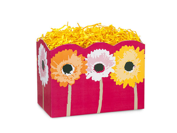 """*Small Daisy Inspirations Basket Boxes 6-3/4x4x5"""""""