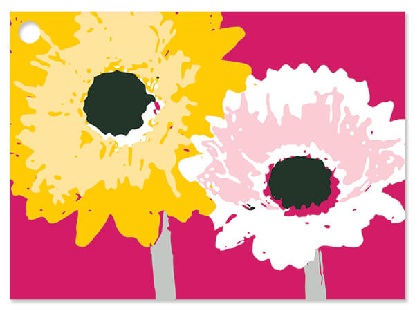 """Daisy Inspirations Gift Cards 3-3/4x2-3/4"""""""