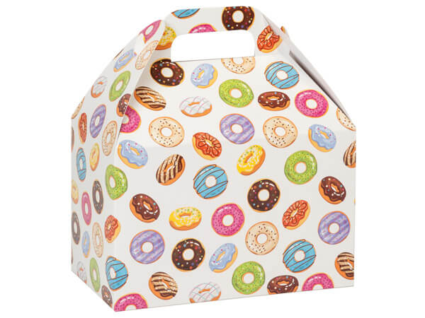 Donuts Gable Boxes 8.5x4.75x5.5""