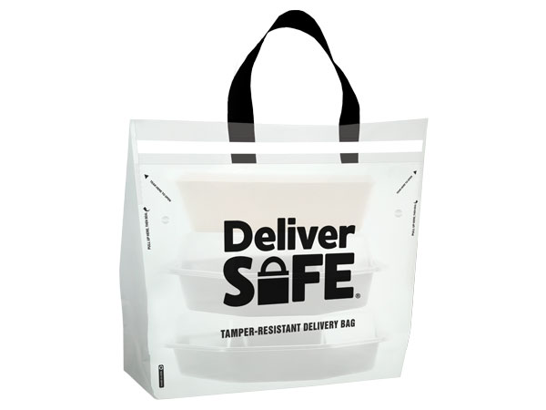Deliver Safe Tamper Resistant Bag, 1.75 mil plastic, Large 21x15+10