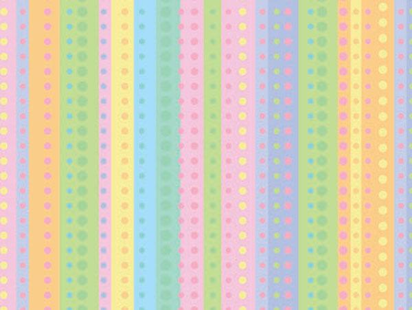 "Dotty Stripe 24""x100' Gift Wrap Roll"