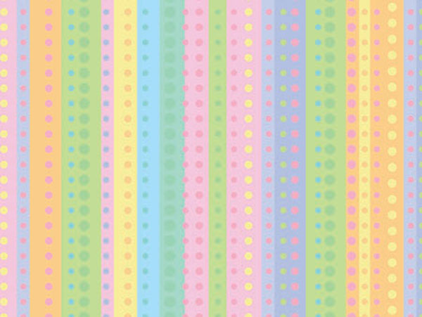 "Dotty Stripe 18""x417' Gift Wrap Half Ream Roll"