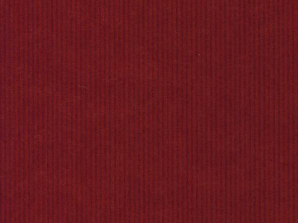 "Dark Red Pinstripe 24""x100' Gift Wrap Roll (Kraft)"