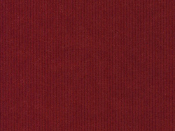 "Dark Red Pinstripe 18""x833' Gift Wrap Full Ream Roll (Kraft)"