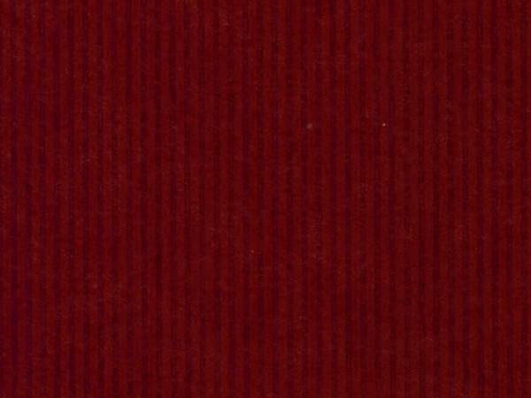 "Dark Red Pinstripe 24""x833' Gift Wrap Full Ream Roll (Kraft)"