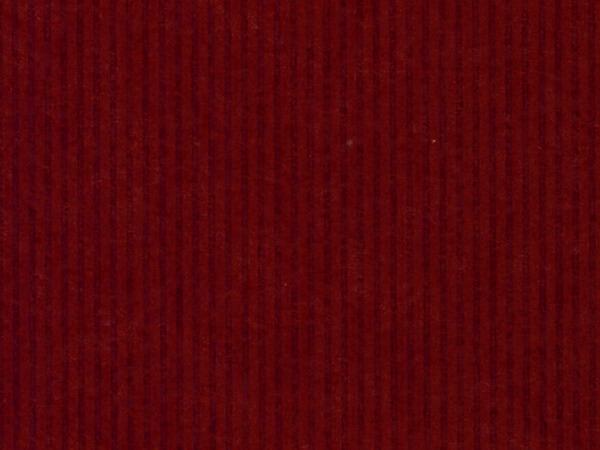 """Dark Red Pinstripe 24""""x417' Gift Wrap Half Ream Roll (Kraft)"""