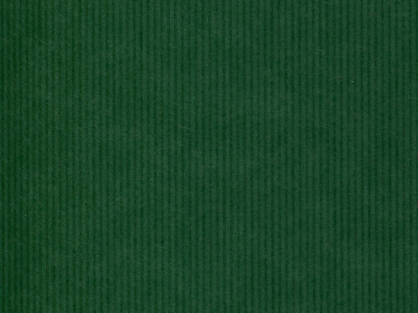"Dark Green Pinstripe 24""x417' Gift Wrap Half Ream Roll (Kraft)"