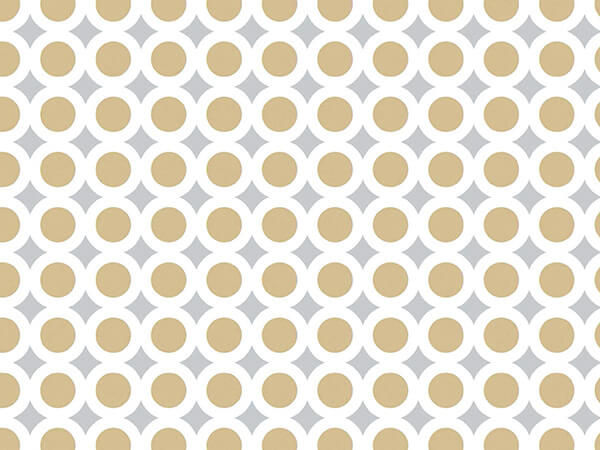 """Buillion Wrapping Paper 7-3/8""""x100', Jeweler's Roll"""