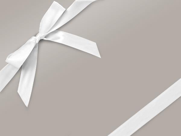 "Silver Ultra Gloss 24""x417' Gift Wrap Half Ream Roll"